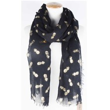 TOROS fashion wholesale fruit printed scarf woman cotton scarf