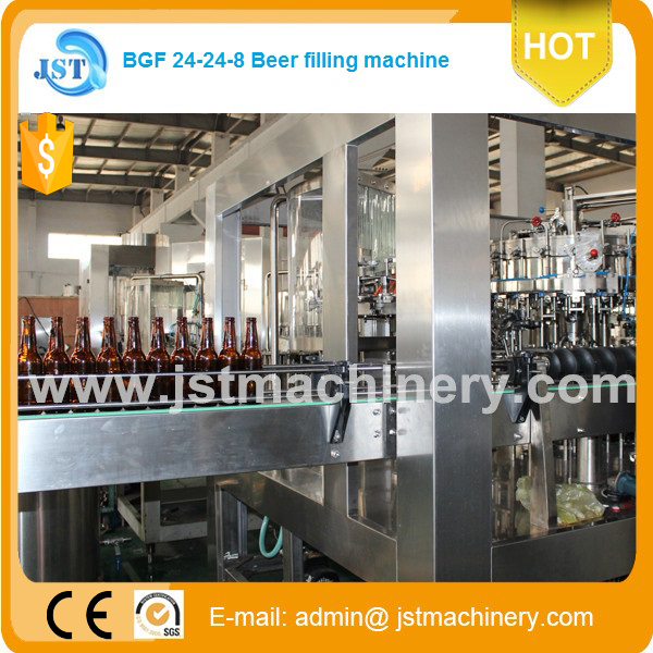 BGF 14-12-4 GOOD PRICE IN CHINA beer filling process system