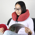 OEM package airplane rest neck support memory foam travel pillow