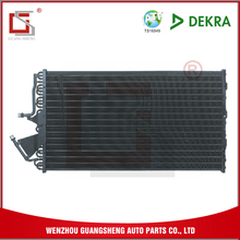 GUANGSHENG New Car Ac Parts Air Cooled Condenser With Flat Fin Style