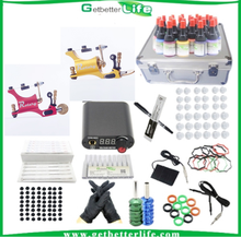 2015 getbetterlife professional complete rotary tattoo machine tattoo kit