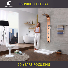 Thermostatic Faucets Waterfall Shower Panel Bathroom Fittings Names