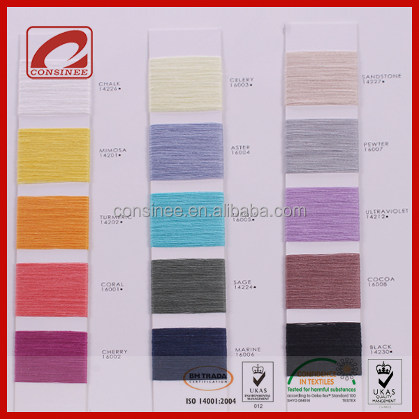 Consinee global hot sale stock service linen yarn 100 flax yarn flax fiber