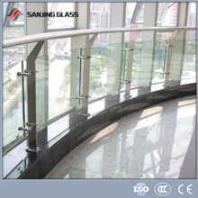 exterior building tempered glass fence/china supplier exterior building glass walls