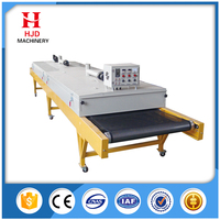 T Shirt conveyor belt dryer | Textile tunnel dryer | T-shirt tunnel dryer