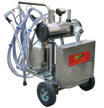 hot sale mobile vacuum pump type penis milking machine, portable milking for goats