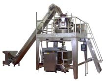 Vertical Packaging Machine Complete Of Multiweigher