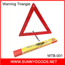 road safety reflector car emergency tools warning triangle