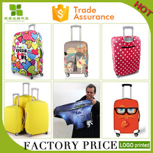 durable protective spandex luggage cover case elastic suitcase luggage dust cover with logo