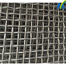 stainless steel crimped wire mesh for mining sieve screen mesh