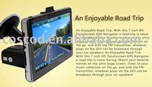 navigation gps 7 inch Touch screen Portable Car GPS ROM 4GB