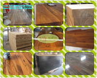 water proof outdoor wood table, 100% solid real teak table tops