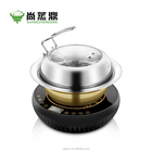 Household  mini electric food steamer stainless steel steam pot