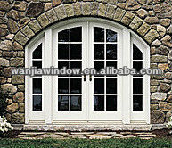 Latest design european style arched french doors buy for European french doors