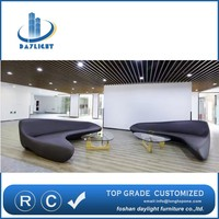 2016 newest italy design High Quality Hotel Lobby Bench Sofa ( DL04032 )