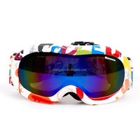 good quality double lens anti-fog snow goggles for outdoor sports