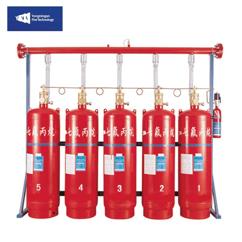 Fire Fighting Suppression Equipment HFC-227ea Automatic Gas Fire Extinguishing System FM200 YNA-FM200