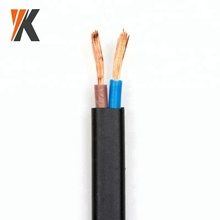 PVC insulated flexible electrical wires 2 core 1.5mm2 2.5 sq mm cable