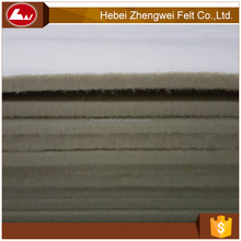 Make-to-order needle punched polyester nonwoven 10mm thick wool felt