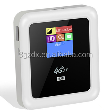 LTE TDD/FDD/WCDMA Wireless Router Setup 4G LTE WI FI Router Portable