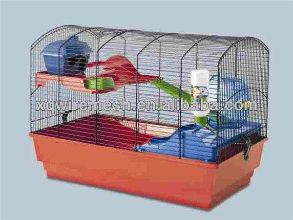 wire mesh hamster with plastic hamster cage