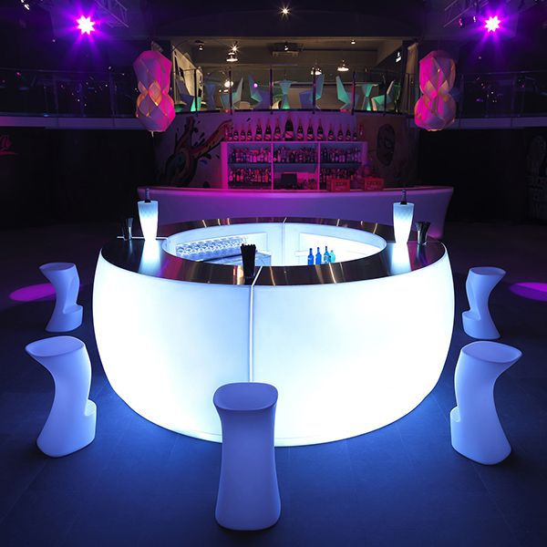 high quality LED furniture/LED bar table/Bar Furniture