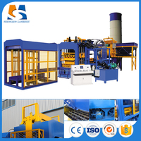 QT10-15 fully automatic fly ash brick making machine