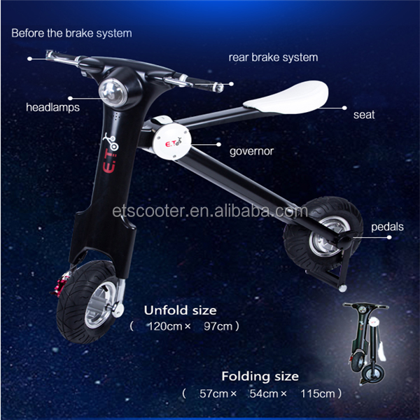 2015 New Style Scooter 50cc/Electric Motor Scooters for Adults/Electric Scooter for Teenagers
