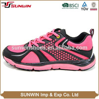 Famous attractive pink running shoes women with popular design
