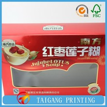 Wine Product Type and Bottle Packaging 750ml bottle wine box with PVC window