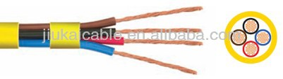 300 / 500 V PVC Flexible Electric Wire H05V3V3-F Coper Cable Standard TS 9760, IEC 227, VDE 0281, BS 6500 (**L)