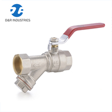 Custom food grade kitchen pipe Y valve water strainer prices