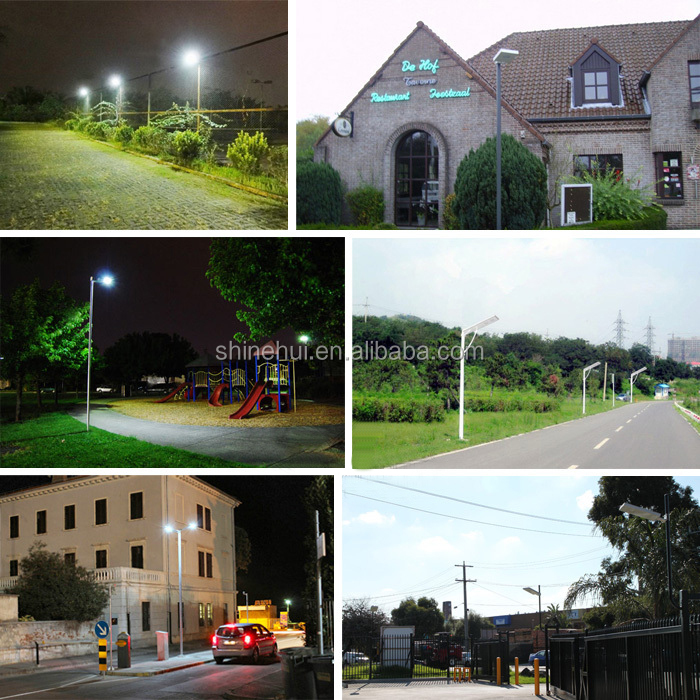20W OEM Factory All In One Solar Street Light Price