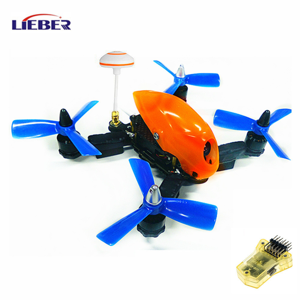 2017 Lieber 2.4G QAV HAWK-150 MINI FPV Aircraft RTF Drone with HD camera & CC3D Flight Controller