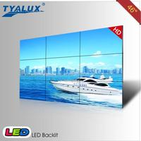 3840x2160 3.8mm Seamless LCD video wall for confrence calls with DP loop out