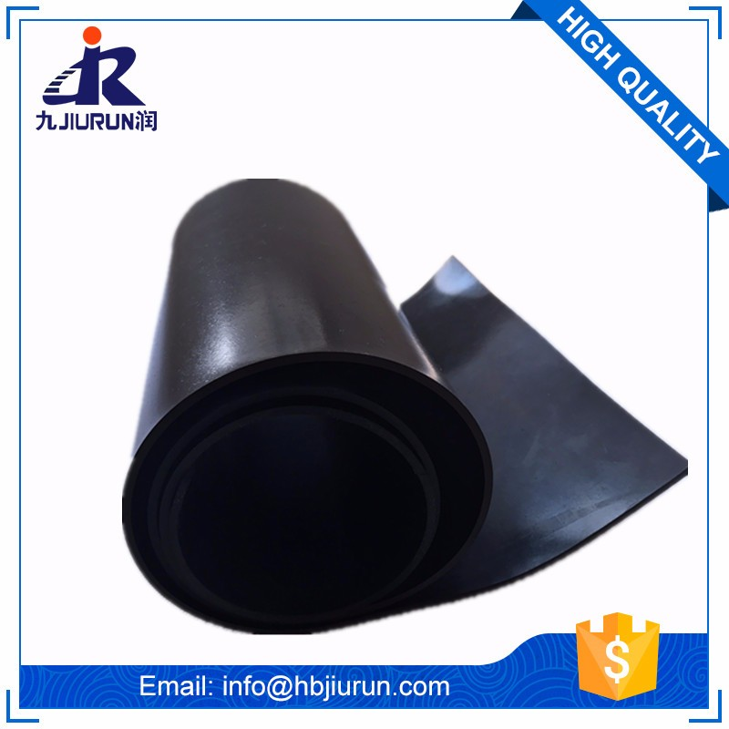 "2"" thick Wear resistance anti-shock sbr rubber sheet"