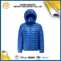 High quality custom cheap nylon windproof ultralight down jacket
