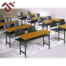 School furniture double desk and chairs