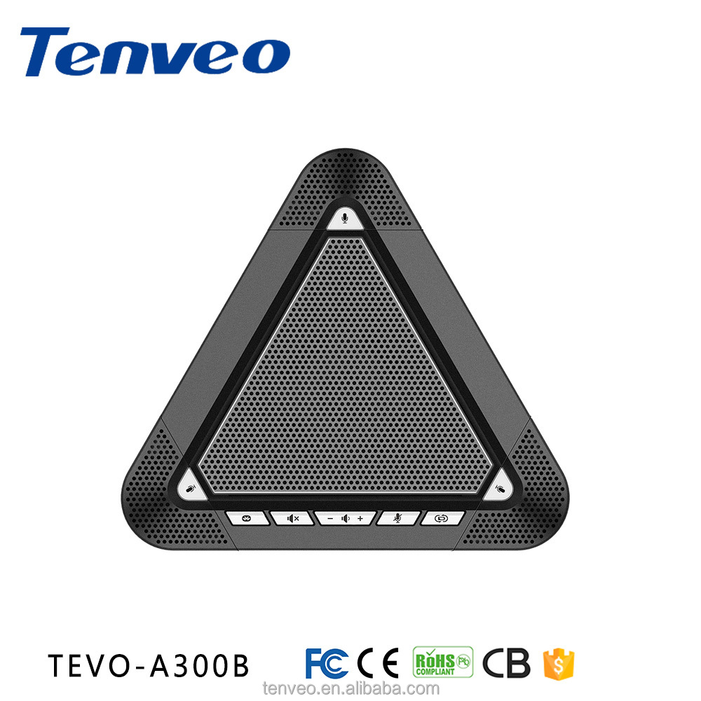 TEVO-A300B USB microphone speaker conference room speakers free driver blue tooth speaker phone