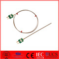Mineral Insulated Thermocouple with Miniature Plug TYPE K