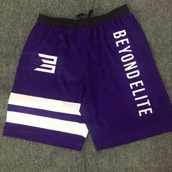 custom sublimation print your logo men running shorts