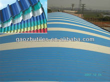 2.0mm corrugated plastic tile effect roofing sheets in corrosive chemical plants