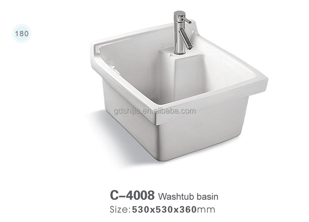c4008 en c ramique bac lessive pour le lavage des v tements lavabo de salle de bain id de. Black Bedroom Furniture Sets. Home Design Ideas