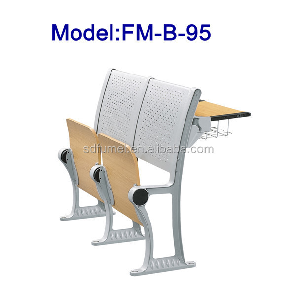 FM-B-95 University folded modern school desk and chair