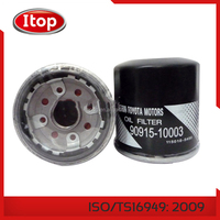 Low price top quality oil filter car , 90915-10003 Plastic/metal auto / truck / car oil filter