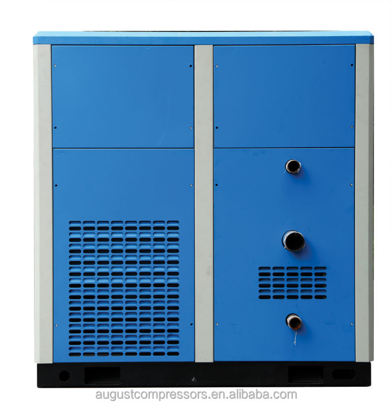SF250D 250KW/335HP 8 bar AUGUST stationary air cooled screw air compressor price of screw compressor silent compressor