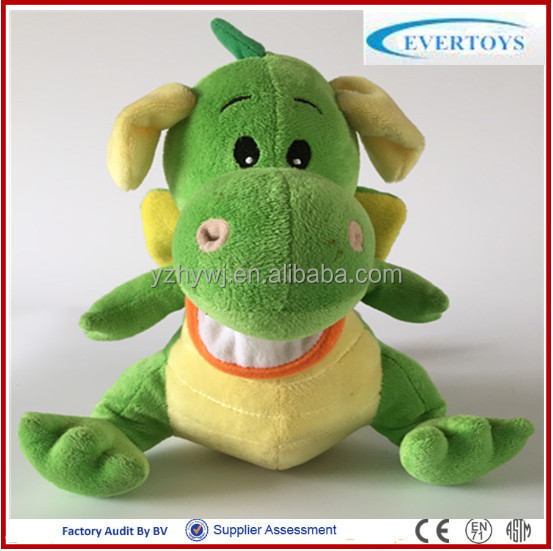 hot 2014 christmas toys animal dinosaur toys with bib