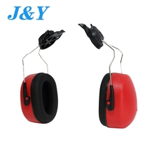 2017 HOT Sales en352 hearing protector safety cap mounted ear muffs