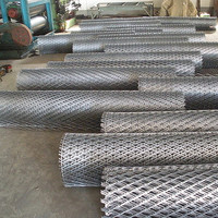 high quality low carbon/stainless/hot-dipped galvanized Steel Expanded Metal roll/Heavy expanded metal