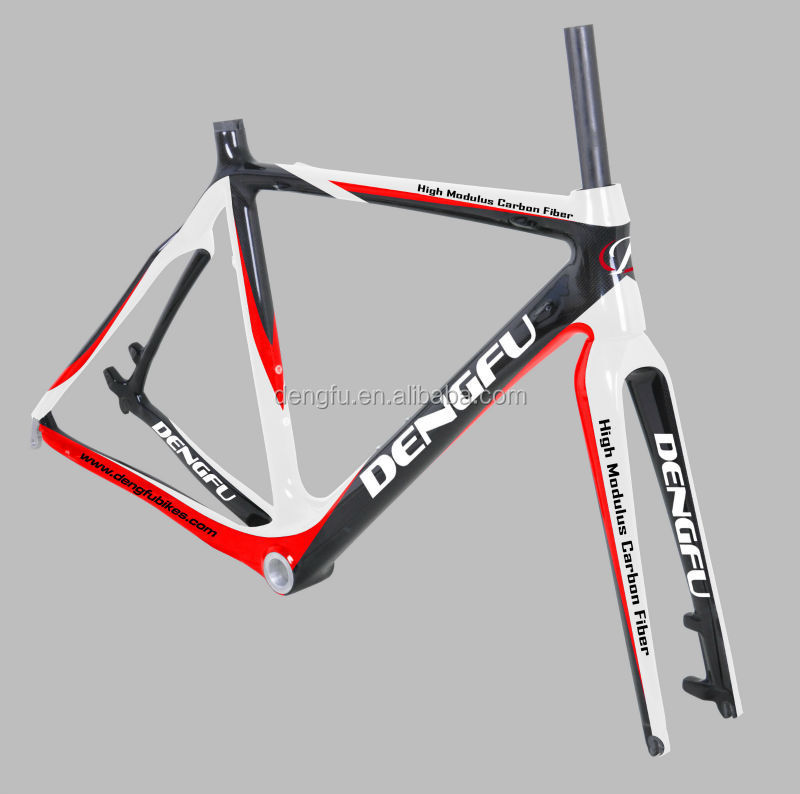 Dengfu sell cyclocross bike disc bicycle frame cyclingyong carbon bike FM059